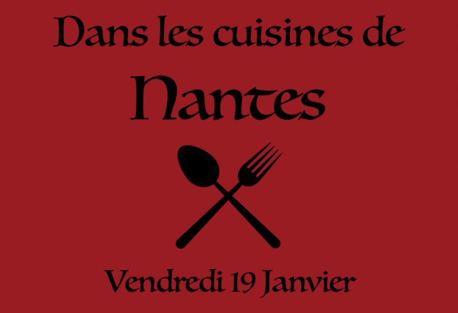 Dans les cuisines de Nantes!