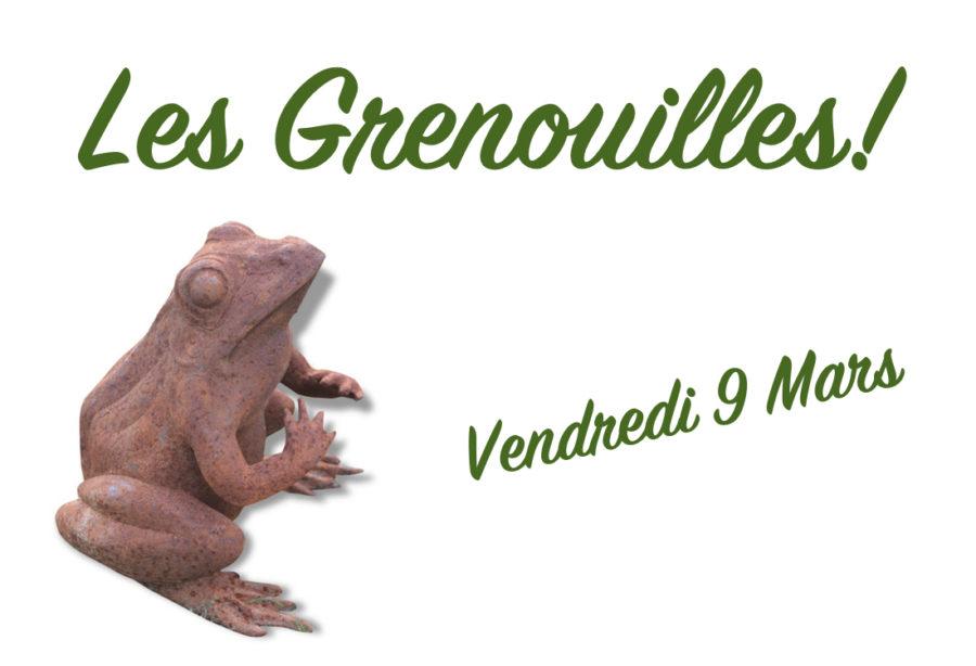 Les Grenouilles!