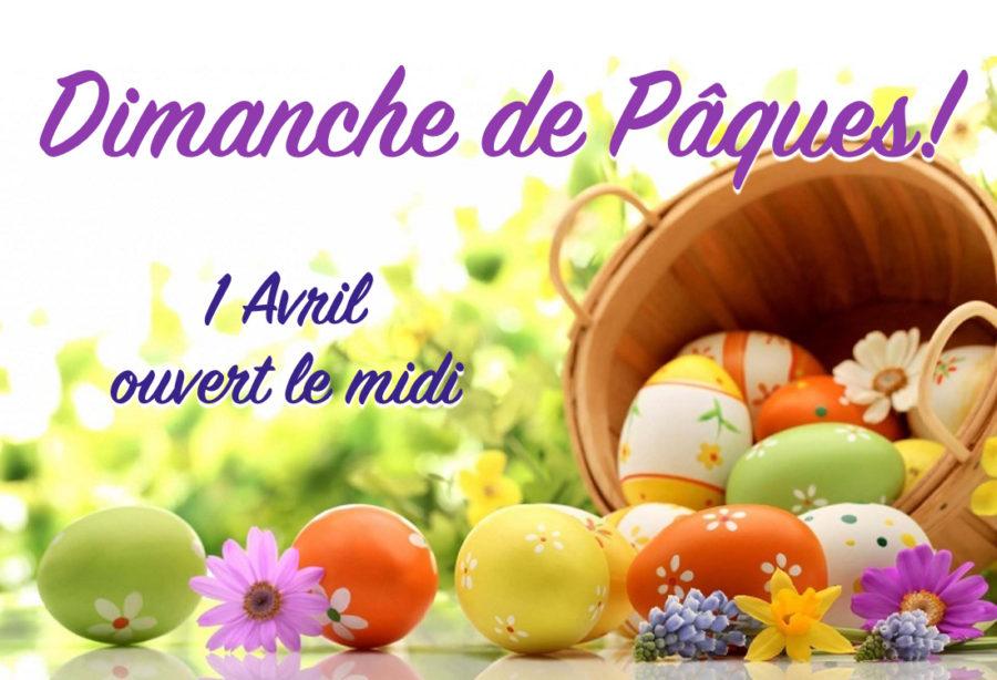 Dimanche de Pâques!