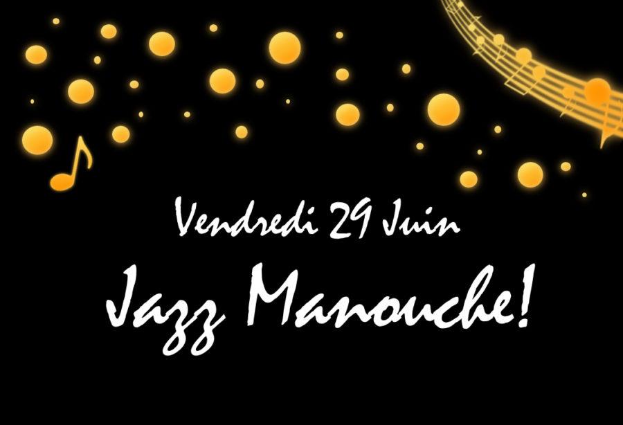 Jazz Manouche avec Trivial pour Swing!
