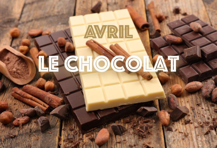 En Avril c'est chocolat!